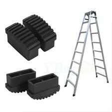 Replaceable 1Pair Rubber Non Slip Step Aluminum Ladder Feet Foot Cover Mats Sole
