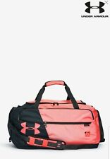 Unisex Under Armour Undeniable 4.0 Pink/Black Duffle Bag Brand New with Tags