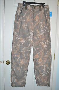 COLUMBIA Mens PHG Gallatin Lite Lined Hunting Camo Pants Wool NWT $140 L, XXL