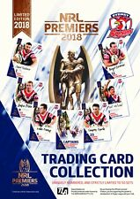 2018 NRL PREMIERS TRADING CARD SIGNATURE COLLECTION SET SYDNEY ROOSTERS #30 / 50