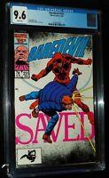 DAREDEVIL #231 1986 Marvel Comics CGC 9.6 NM+ WHITE PAGES