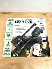 UPC 017801722086 product image for Feit Electric Wi-Fi Smart Outdoor Plug 2-Pack New-Sealed | upcitemdb.com