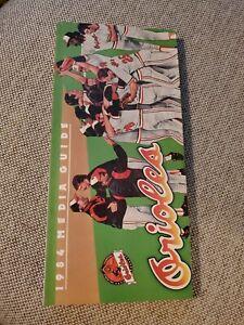 1984 Baltimore Orioles Baseball MLB Media Guide Cal Ripken Jr Eddie Murray +