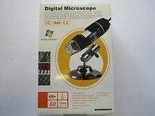 USB 2.0 & 1.1 Microscopio digitale con 800 x ingrandimento / Luce / Software / supporto