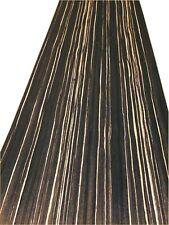 High Quality Zebrano Negro Veneer / Flexible Wood Veneer Sheet