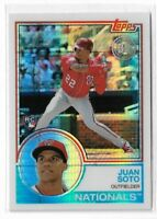 2018 topps update silver pack rookie Juan Soto #134 Washington Nationals
