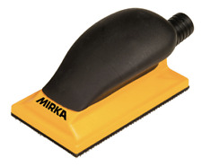 MIRKA 70x125mm hand sanding block with vacuum outlet