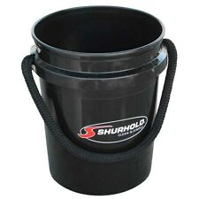 Shurhold Rope Handle Black Bucket 5 Gallon 2452