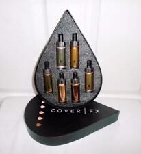Cover FX The Glow Getter Custom Enhancer Drops Vault 6pc Holiday Gift Set LTD ED