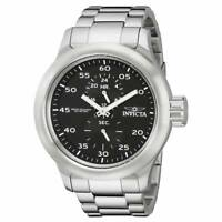 Invicta Men's Watch Russian Diver Quartz Black Dial Steel Bracelet 19491