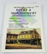 Metro Street Atlas of Bucks & Montgomery Counties of Pennsylvania Franklin Map