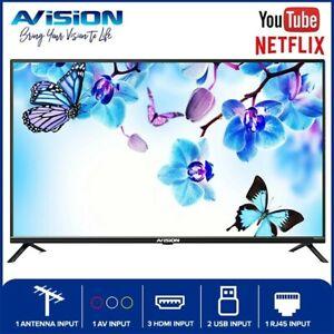 Avision 40 Inch Smart Digital LED TV 40FL802 with Wall Bracket