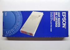 ORIGINALE Epson t411 Light Magenta chiaro Stylus PRO 9000 220ml --- OVP 11/2012
