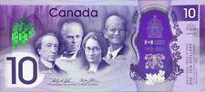2017 Canada- 150th Anniversary of Canada - $10.00 Banknote - UNC