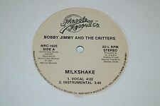"""Bobby Jimmy and the Critters~Milkshake~Overlapping Waist~12"""" Single~FAST SHIP"""