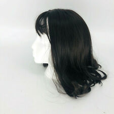 Seventh Avenue Queen's Women's Dark Brown Medium Length Wig Bangs Human Hair