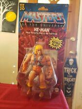 Masters of the Universe Origins He-Man Action Figure MOTU 2020 Retro