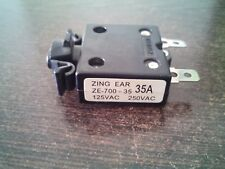 50pcs Zing Ear Ze-700-35 35A Pushbutton Circuit Breaker 35 Amp New