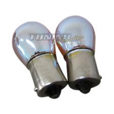 2x Chrom Silver Blinkerbirnen BAU15s Blinker Birnen Lampen Orange PY21W #3