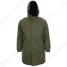 US M51 Parka with Liner - Winter Cold Weather Coat Removable Liner Fishtail New