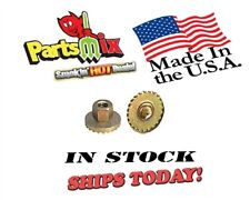 """Mopar 64-74 Dodge Plymouth Chrysler Seat or Heater Blower Nuts w/1"""" washer 4 pk."""
