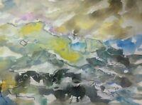 ORIGINAL Seascape Watercolor  painting