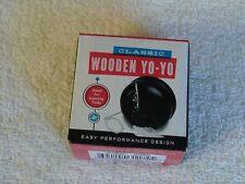 Classic Wooden Yo-Yo Black Nib