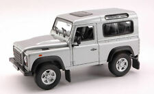 Land Rover Defender 90 1984 Silver 1:24 Model 2092S WELLY