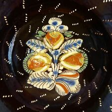Piatto Decorativo Svizzera Heimberg Fine XIX secolo Glasierte Keramik Thun 2