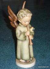 "**LARGE** ""Festival Harmony"" Goebel Hummel Angel W/ Flute Figurine #173/0 TMK4"
