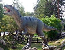 Photo. 2000s. Poland. Allosaurus Dinosaur