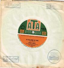 """SANDY SCOTT - IN THE ARMS OF LOVE - RARE 7"""" 45 VINYL RECORD - 1967"""