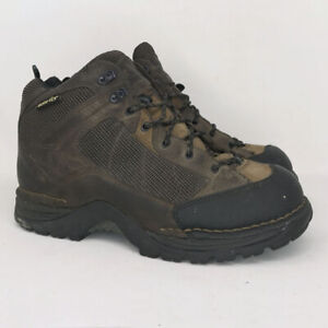 Danner Mens Radical 452 Gore Tex 45254 Brown Leather Hiking Boots Lace Up Sz 10