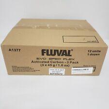Fluval SPEC EVO FLEX Carbon Filter Media -12 Units 3-Pack NiB Sealed A1377