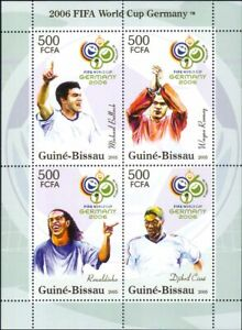 Guinea Bissau 2006 Football World Cup Championships/WC/Soccer/Sports m/s  b2060s