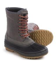 Tamarack Peak Pack Boots Waterproof Rubber Canvas Grey Black Mens Sz 10 Winter