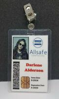 Mr. Robot ID Badge - Allsafe Darlene Anderson costume prop cosplay