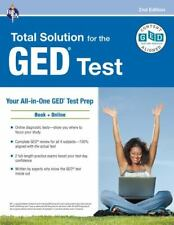 Ged(R) Test: Rea's Total Solution for the Ged(R) Test, 2nd Edition (Paperback)