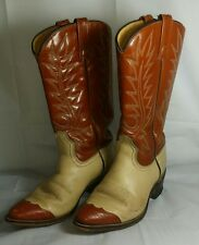 Acme 1980's vintage cowboy Western Boots Us Woman's Size 6 C / Usa Made / Used
