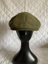 BARBOUR Flat Cap Size 7 5/8