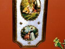 Royal Victorian French Nobility Art Love Courting Music Costumes Italy Wood # 1