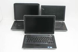 DELL Bundle Of Laptops Latitude ES420 E6330 E6320 Spares And Repairs FAULTY
