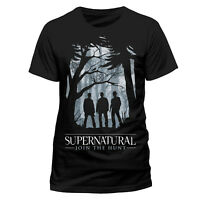 Official Supernatural Group Outline T Shirt Mens Dean n Sam Winchester