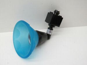 DMF Lighting DLV4233B Low Voltage Blue Glass Shade MR16 Track Light Head Fixture