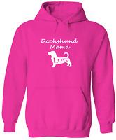 Dachshund Mama Pullover Hoodie Sweater Unisex Sweatshirt Print Gift Sausage Dog