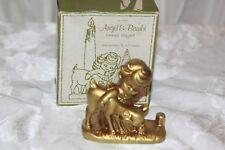 Vintage Holt & Howard Angel & Bambi Candle Holder With Original Box Rare