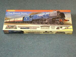 Hornby R1094 USED The Royal Scot Unopened Train Set OO Gauge