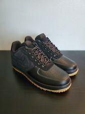 Mens Nike Lunar Force Duckboot Low Black Gum Multi Size NEW Snow Winter