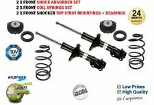 2x FRONT SHOCK ABSORBERS + COIL SPRING + TOP MOUNTINGS for VW LUPO 1.4 2000-2005
