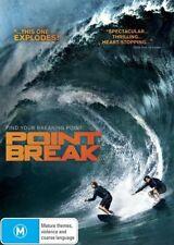 Point Break (2016) DVD Movie SURFING EXTREME SPORT ACTION THRILLER BRAND NEW R4